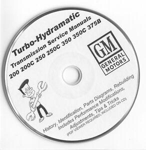 Turbo Hydramatic TH THM 200 250 325 350 375B Rebuild