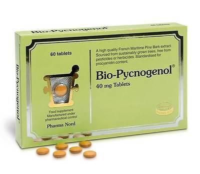 Pharma Nord Bio-Pycnogenol Pinienrinde Heuschnupfen 60 Tabletten