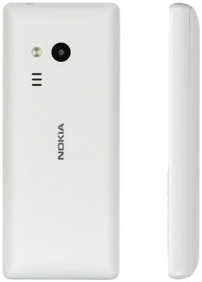Nokia 216   Barren Handy ohne Vertrag/SIMlock,  weiß (Smartphone / Handy)