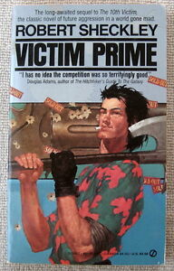 Victim Prime (Victim #2) by Robert Sheckley PB 1st Signet a dying Earth's answer