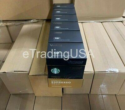 Starbucks Verismo 72 Count Espresso Roast Espresso Pods 05/22/2021