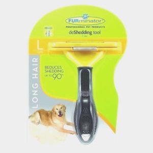 FURminator deShedding Tool for Large Dog 51-90 lbs with Long Hair
