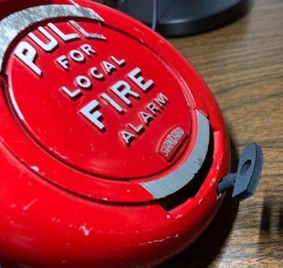 Vintage Standard Electric Time Fire Alarm Pull Station Key 3D Print KEY ONLY