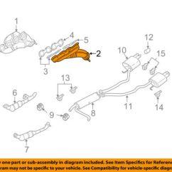 2002 Ford Escape Exhaust Diagram Rca Jack Wiring X5 Block Description Civic Bmw Oem 00 03 Manifold