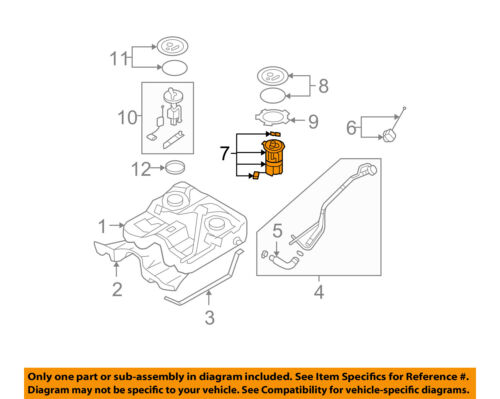 HYUNDAI OEM 0709 Santa FeFuel Pump 311100W000 | eBay