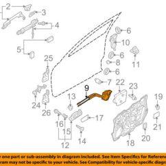 Mazda B2200 Carburetor Diagram Drayton Rts8 Room Thermostat Wiring 16l Blog Oem 10 13 3 Front Door Lock Actuator Motor Bbm459310e Ebay B2000