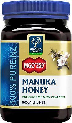 500g Manukahonig MGO 250+ Manuka-Honig Neuseeland .