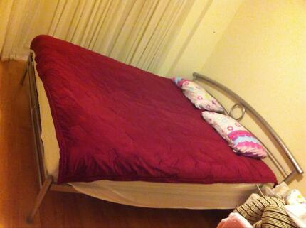 King Size Bed And Mattress 150 00 Campbelltown