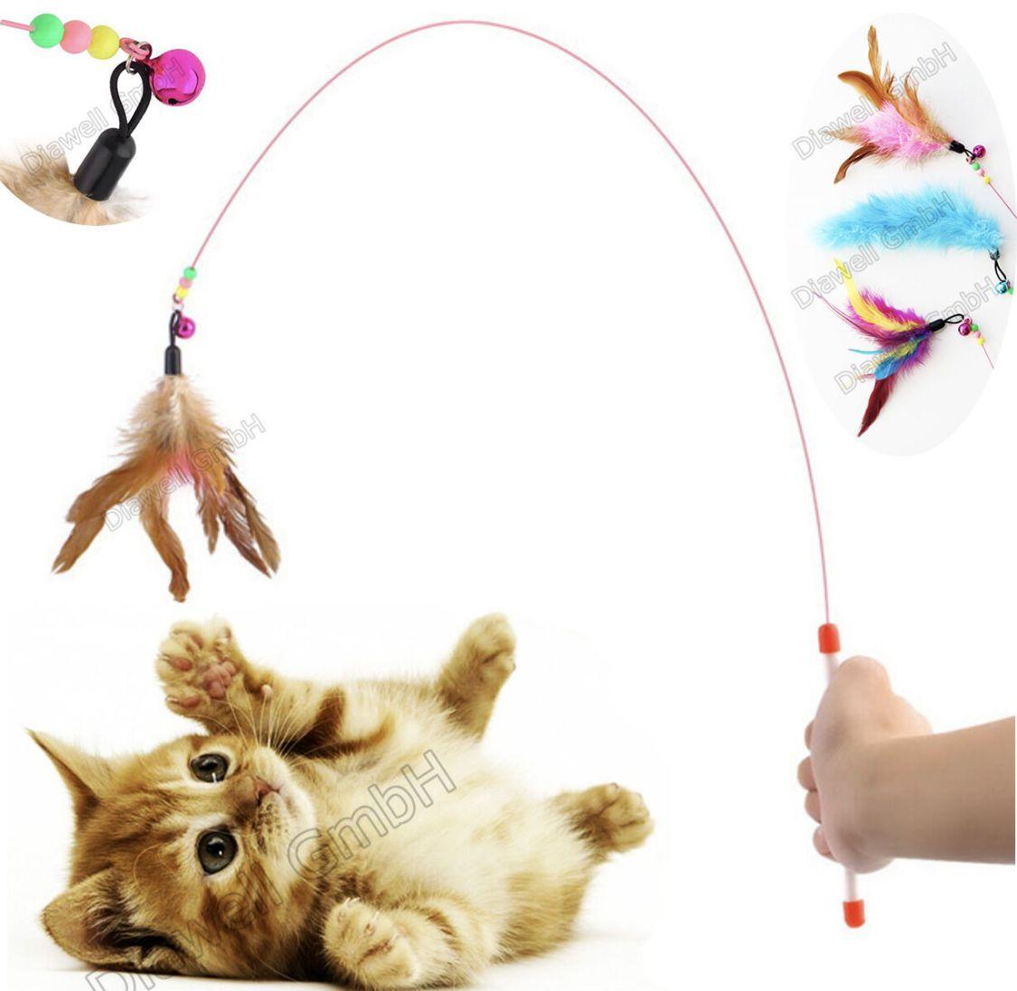 Katzenangel Angel Spielangel für Katzen Katzenspielzeug Katze Spielzeug