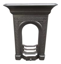 Victorian Cast Iron Fireplace | eBay