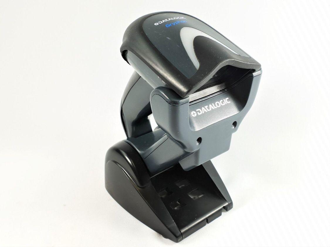 Funk Scanner Datalogic GM4100 kabelloser Barcode Scanner 30-50 m Funkreichweite
