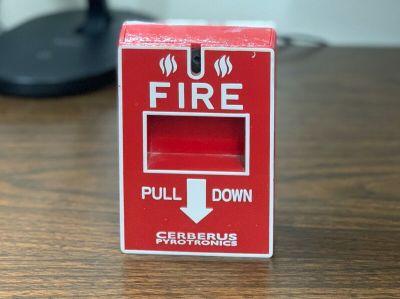 Siemens Cerberus Pyrotronics MS-151 Fire Alarm Pull Station