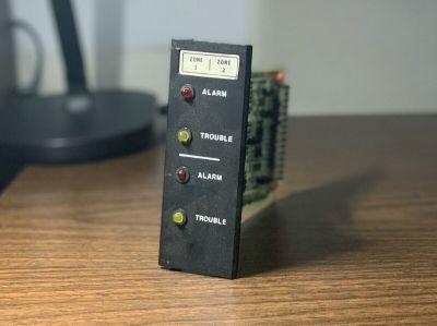 Simplex 556-082 (Rev N) 2001-1017 Fire Alarm Zone Module Card for 2001 FACP