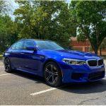 Bmw M5 2018 For Sale Exterior Color Blue