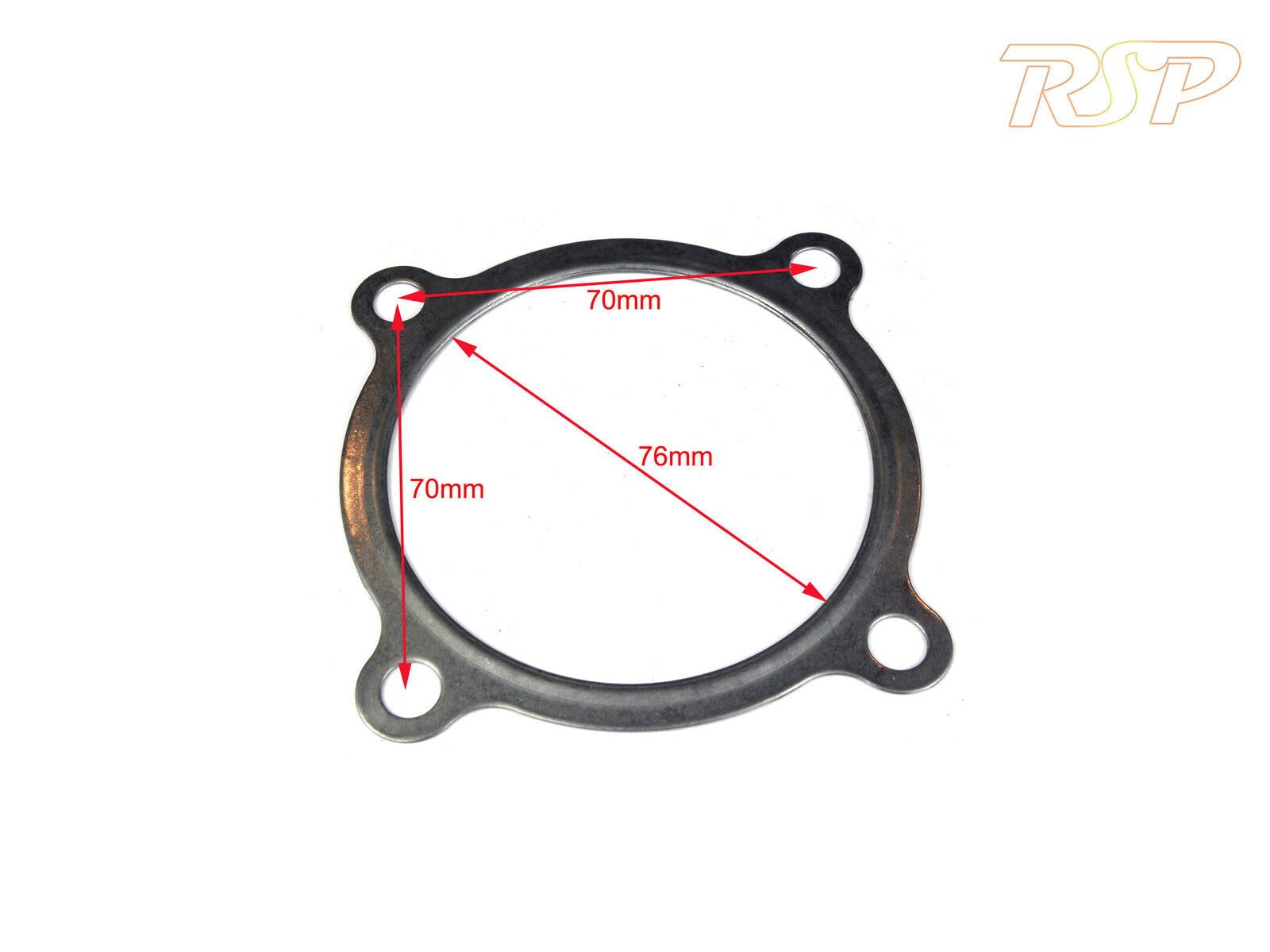 3 4 Bolt Turbo Downpipe Stainless Steel Gasket Fits Gt30