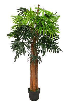 Fingerpalme 1,30 m Kunstpalme Kunstpflanze Kunstbaum künstliche Palme