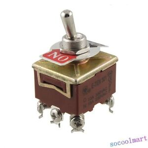3pst 6 Terminals On Off 2 Position Toggle Switch Ac 15a