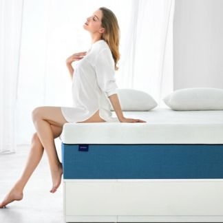 Molblly 10 Inch Queen Size Gel Memory Foam Mattress More Breathable bed Mattress