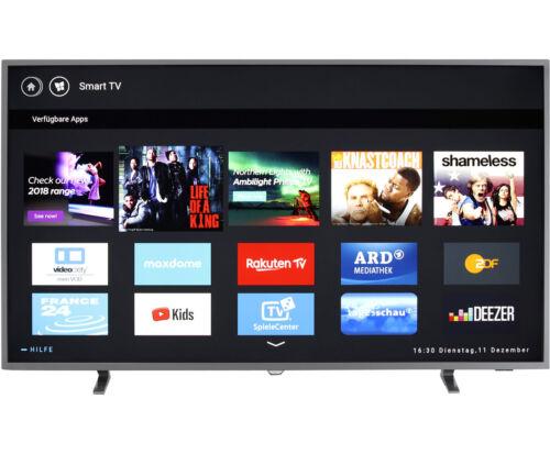 Philips TV 55PUS6703/12 4K/UHD LED Fernseher 139 cm [55 Zoll] Silber