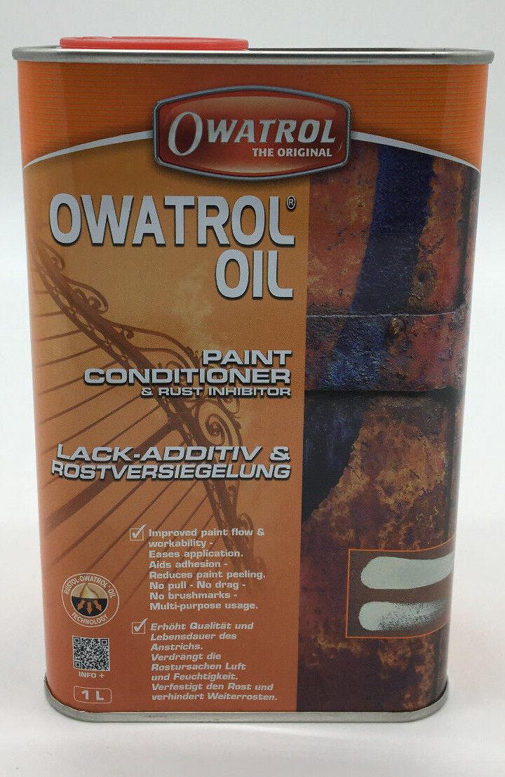 (20,00€/L)Owatrol Öl Rostschutz Rostversiegelung Kriechöl Additiv transparent 1L