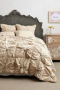Anthropologie Rosette Bedding | eBay