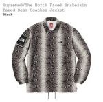*IN HAND* Supreme / TNF The North Face Snakeskin Coaches Jacket (Black) - Large