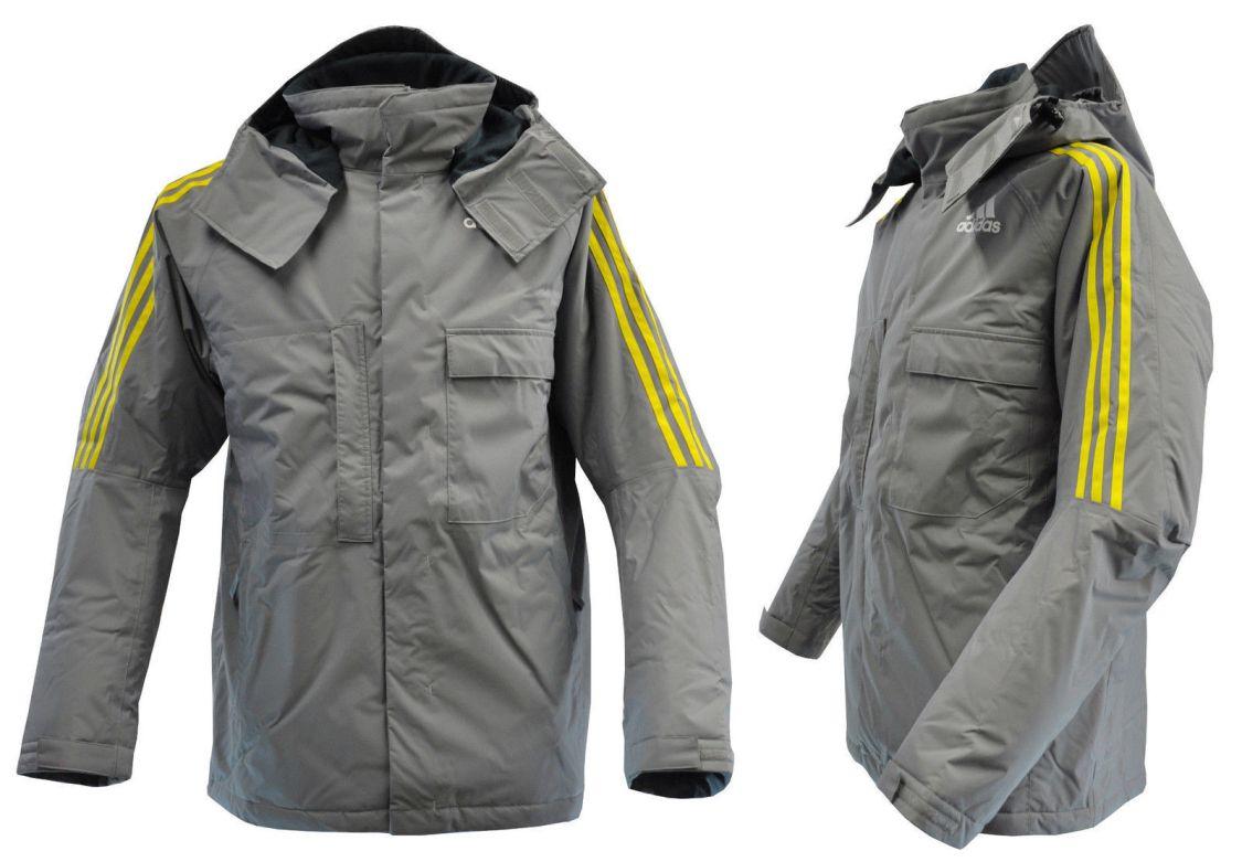 adidas M-L (52) warme Outdoor Winterjacke Skijacke Parka Regen Jacke wasserdicht
