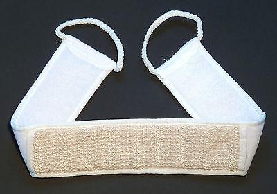 Massageband NEU Rückenbürste Saunabürste sanftes Peeling Bade Dusch Sauna Bürste