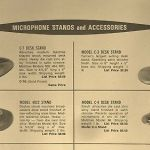 Vintage 1950's Turner C-4 microphone old stand / base Altec Shure Atlas # 1