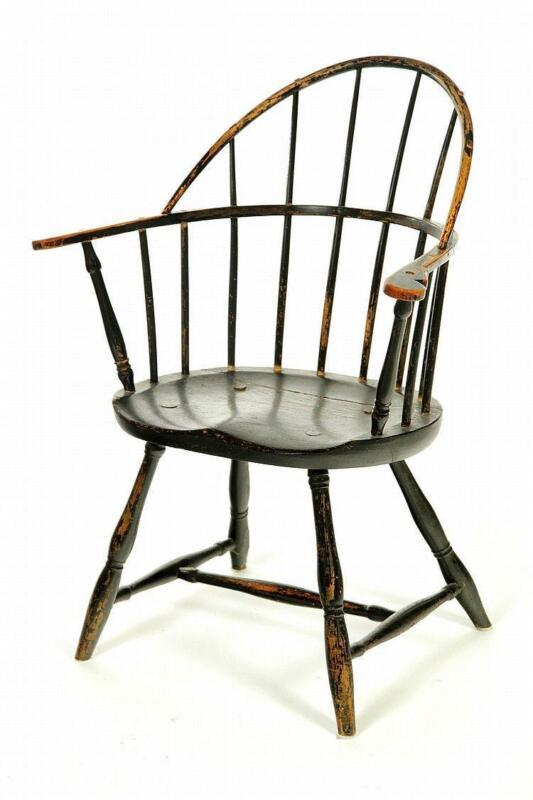 windsor chair with arms red accent arm ebay