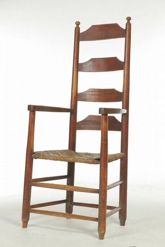 ladder back chair kids desk and chairs antique ebay