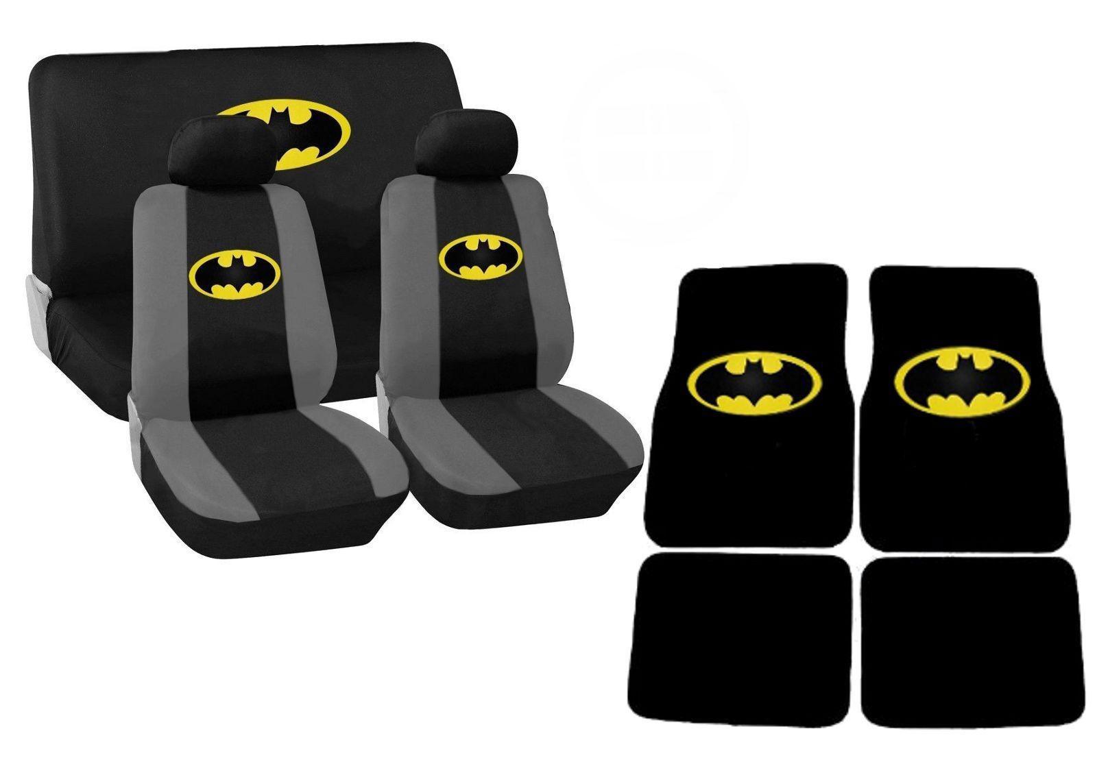 batman car chair kitchen table and set seat covers floor mats classic dc comics ebay