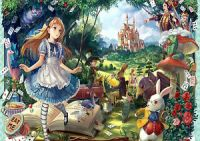 ALICE IN WONDERLAND WALL ART