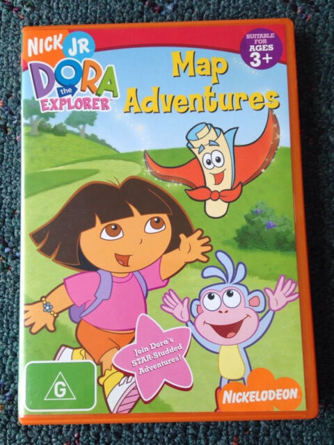 Dora The Explorer Map Adventures Dvd Other Baby Children Gumtree Australia Moonee Valley Essendon 1125627390