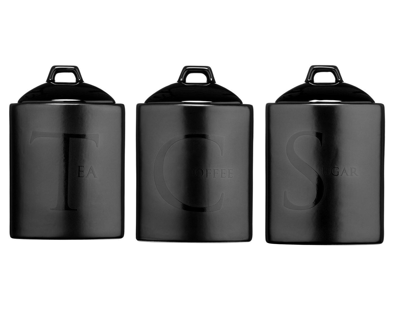 kitchen storage canisters home depot sinks undermount ceramic tea coffee sugar jars