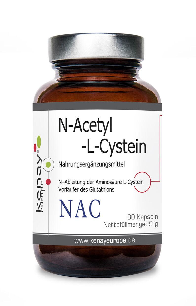 NAC  N-Acetyl-L-Cystein  (30 Kapseln) Nahrungsergänzungsmittel