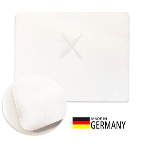 100er-Pack XXL Massage-Gesichtsauflage Nasenschlitztücher Auflage Einweg 40x50cm