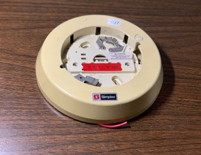 Simplex 2098-9536 Fire Alarm Smoke Detector Relay Base