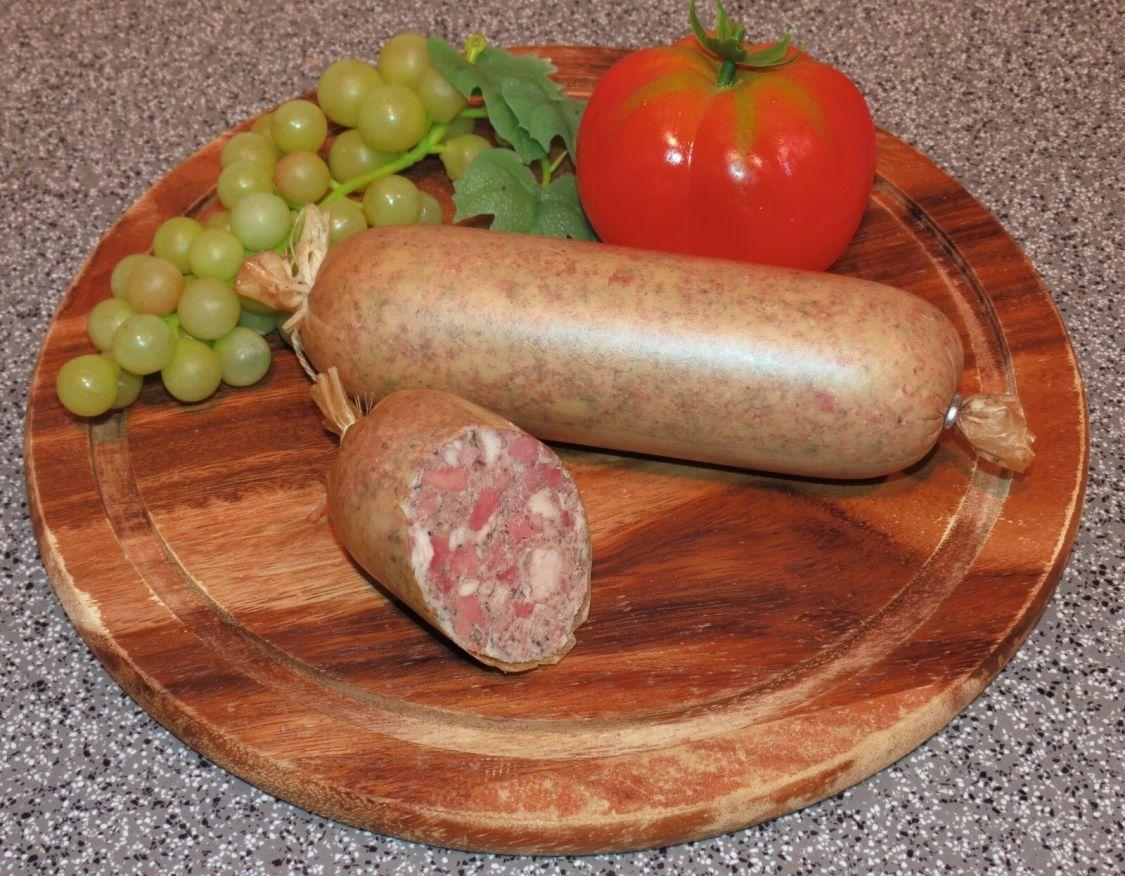 Original Thüringer Wurst - grobe Hausmacher Leberwurst (Darm)