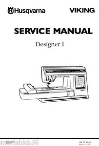 Husqvarna-Viking-Designer-1-ONE-Service-manual-Parts