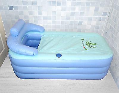 aufblasbare Badewanne für Erwachsene inklusive elektrischer Pumpe