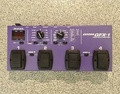 ZOOM GFX-1 Multi-Effects Unit / Guitar Effects Pedal