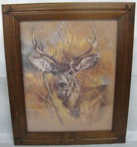 Home Interior Deer Picture  Ebay
