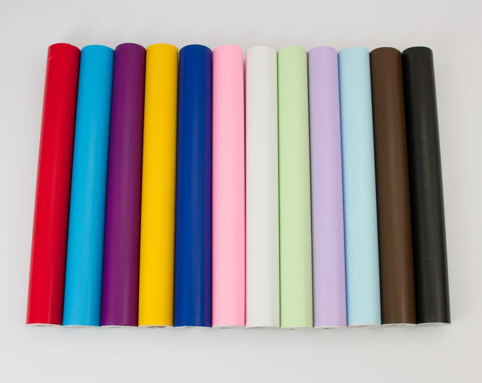 10M ROLL STICKY BACK PLASTIC SELF ADHESIVE Vinyl PVC