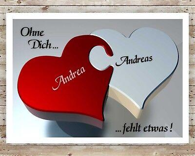 Valentinstag Bild Geschenk Liebe Freund Freundin Hochzeitstag Jahrestag 2