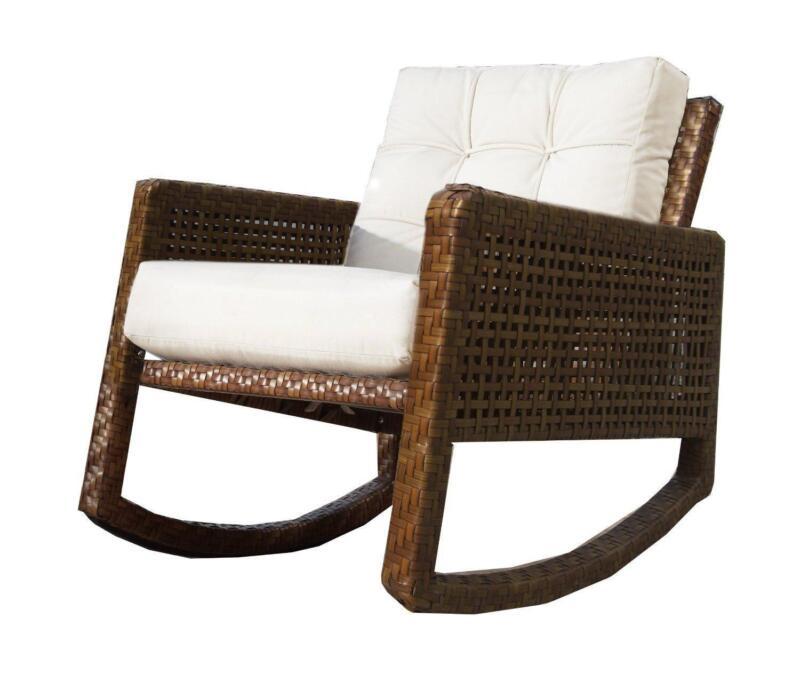Wicker Rocking Chair  eBay