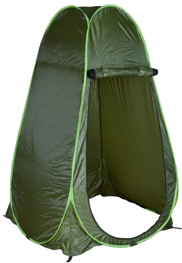 Portable Green Outdoor Pop Tent Camping Shower Privacy