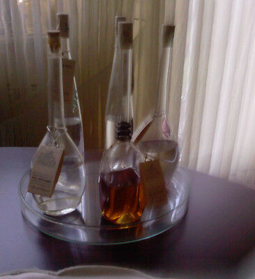 Grappa / Brandy Set  Jacopo Poli ,  5 verschiedene 100ml Flaschen + Glastablett