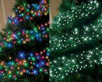 CHASING LED CLUSTER CHRISTMAS LIGHTS / LIGHTING - TREE ...