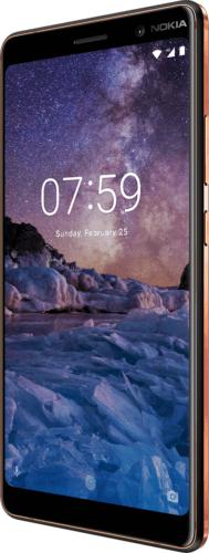 "Nokia 7 Plus DualSim schwarz 64GB LTE Android Smartphone 6"" Display 13Megapixel"